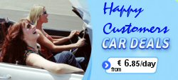 Algarve Car Hire Low Cost at Faro airport, Algarve